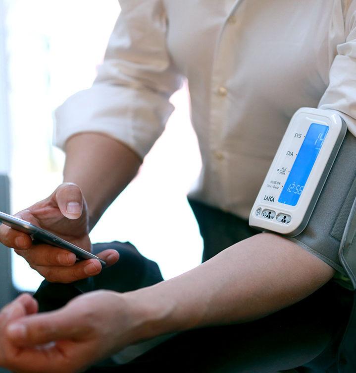 Misuratori di pressione da braccio