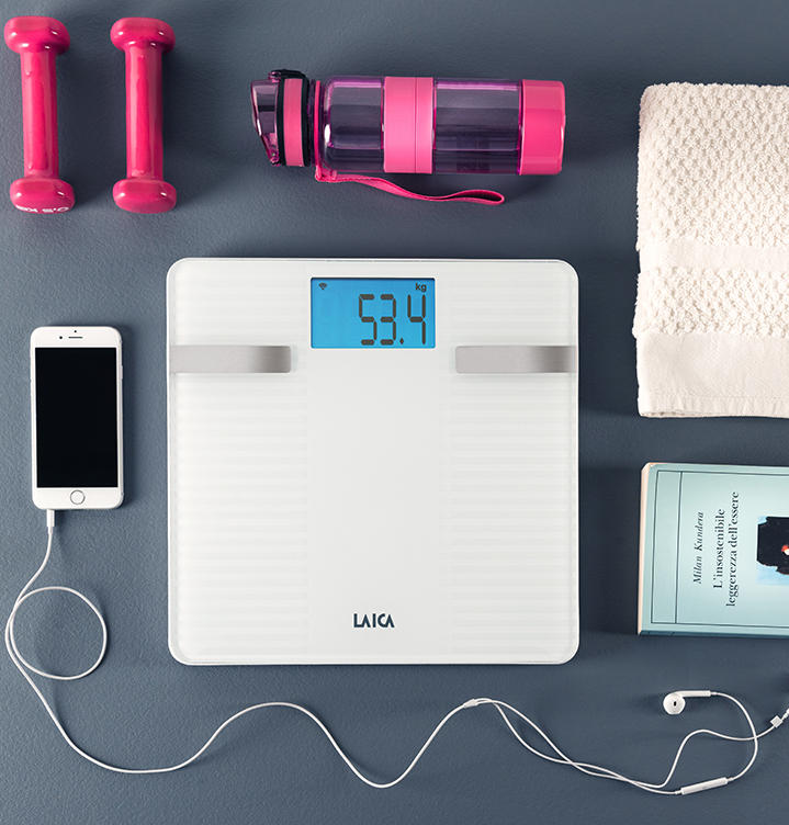 Personal scales LAICA Technology for regular weight control