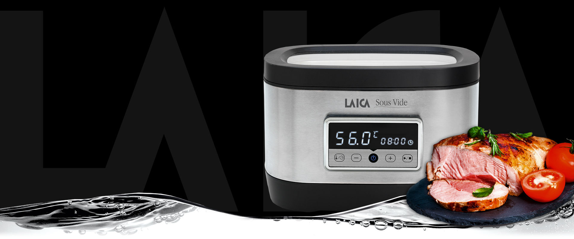 Sous vide cooking LAICA