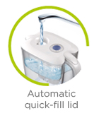 Automatic quick-fill lid icon LAICA