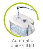 Automatic quick-fill lid icon LAICA
