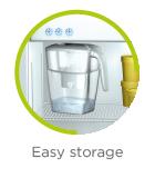 Easy storage jug icon LAICA